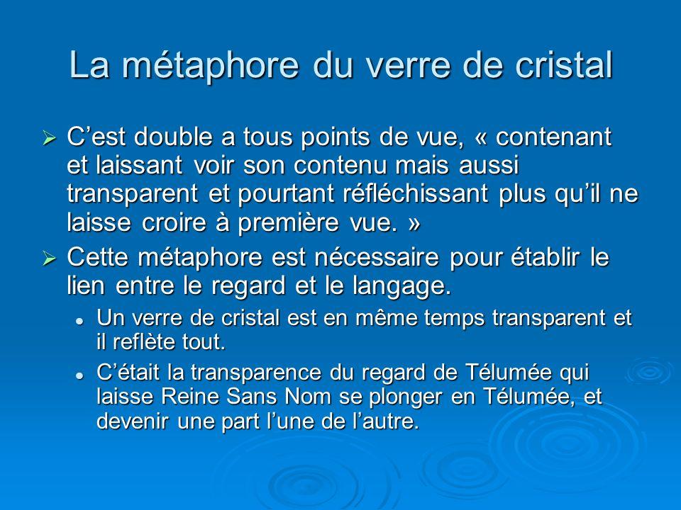 La métaphore du verre de cristal