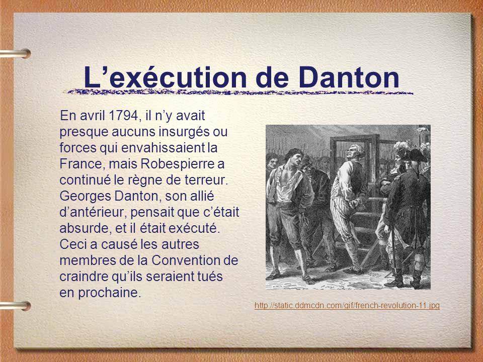 L'exécution de Danton