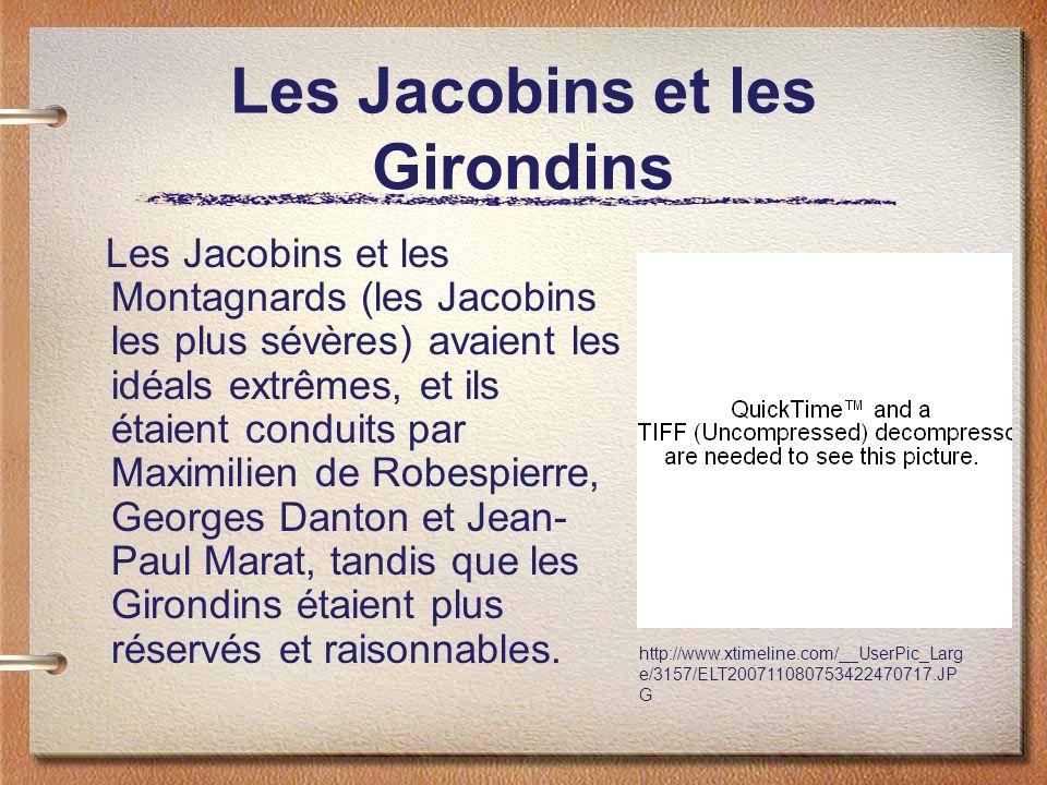 Les Jacobins et les Girondins