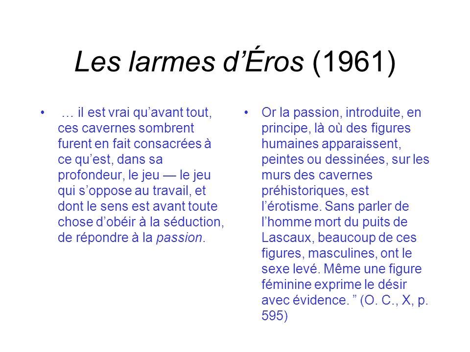 Les larmes d'Éros (1961)