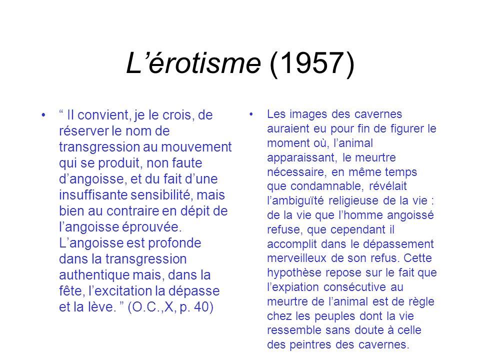 L'érotisme (1957)