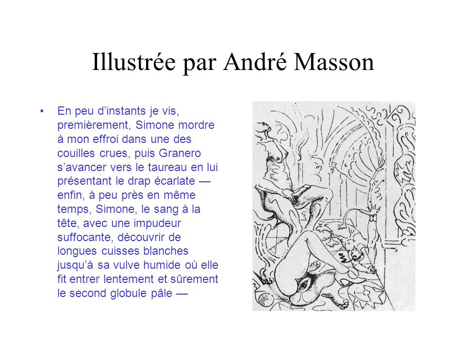 Illustrée par André Masson