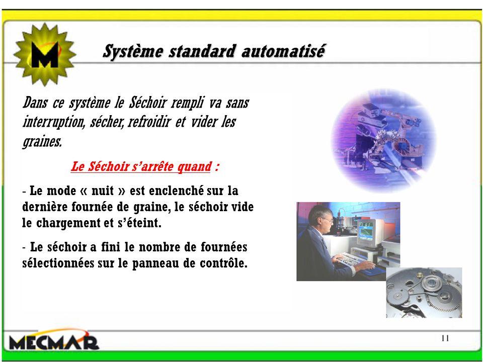 Système standard automatisé