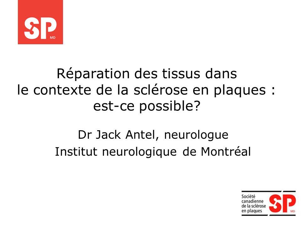 Dr Jack Antel, neurologue Institut neurologique de Montréal