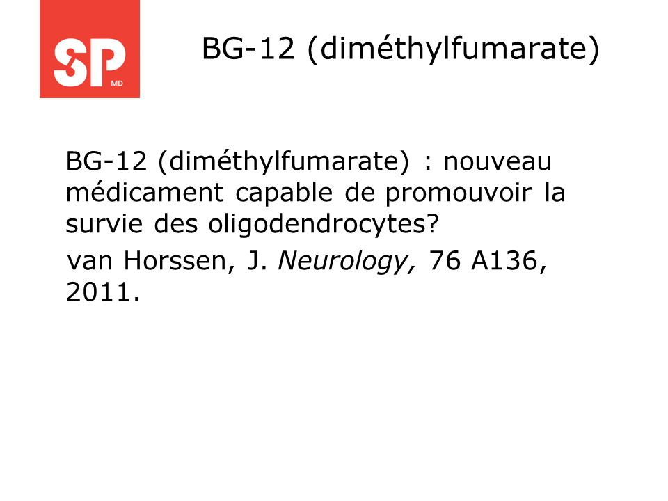 BG-12 (diméthylfumarate)