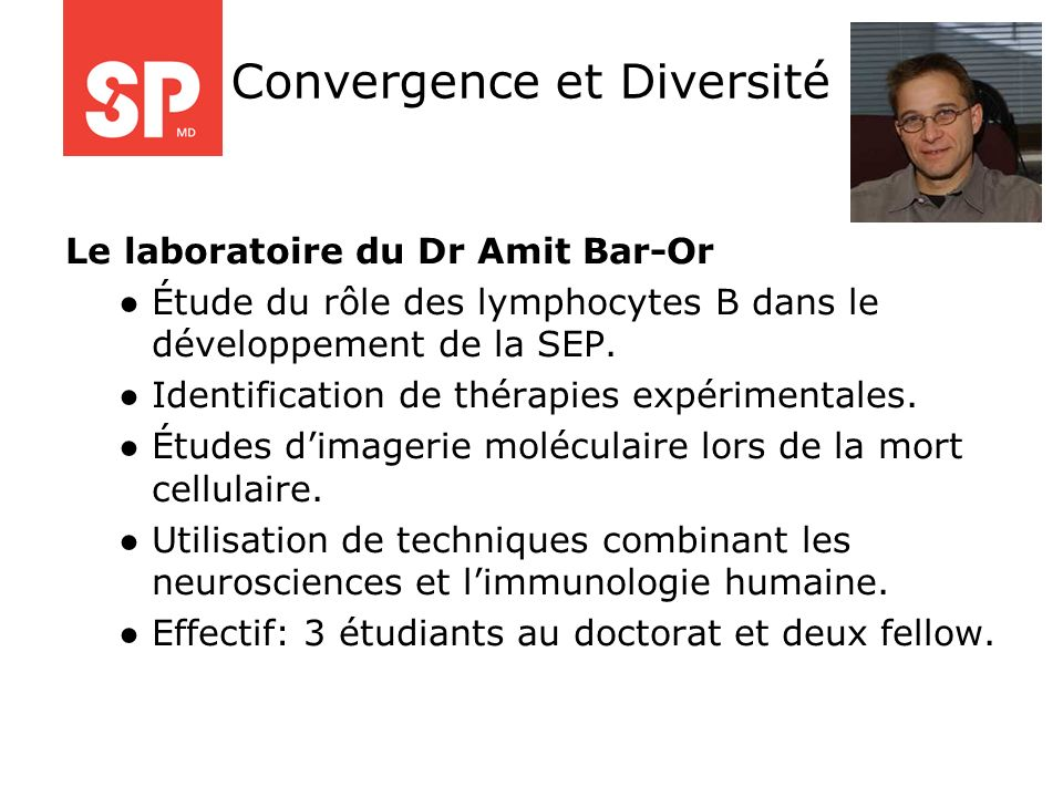 Convergence et Diversité