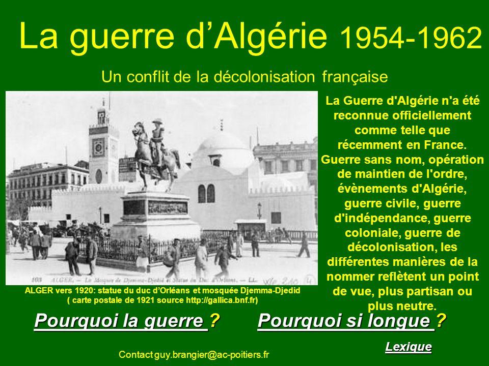 Un conflit de la décolonisation française