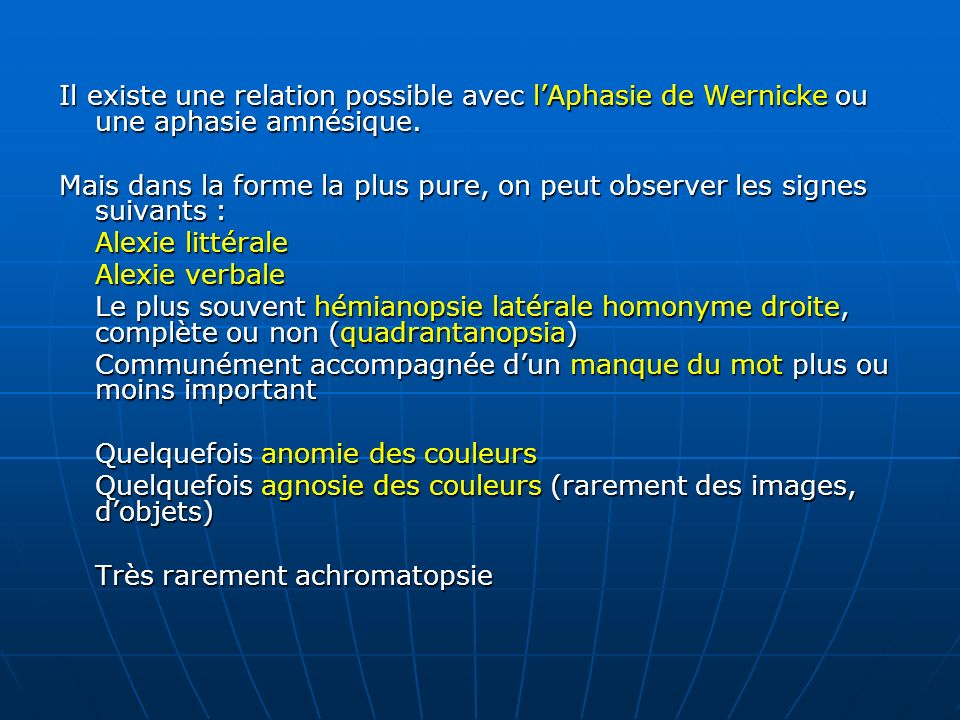 Vocabulaire issu de la neurologie ppt video online for Homonyme du mot farce
