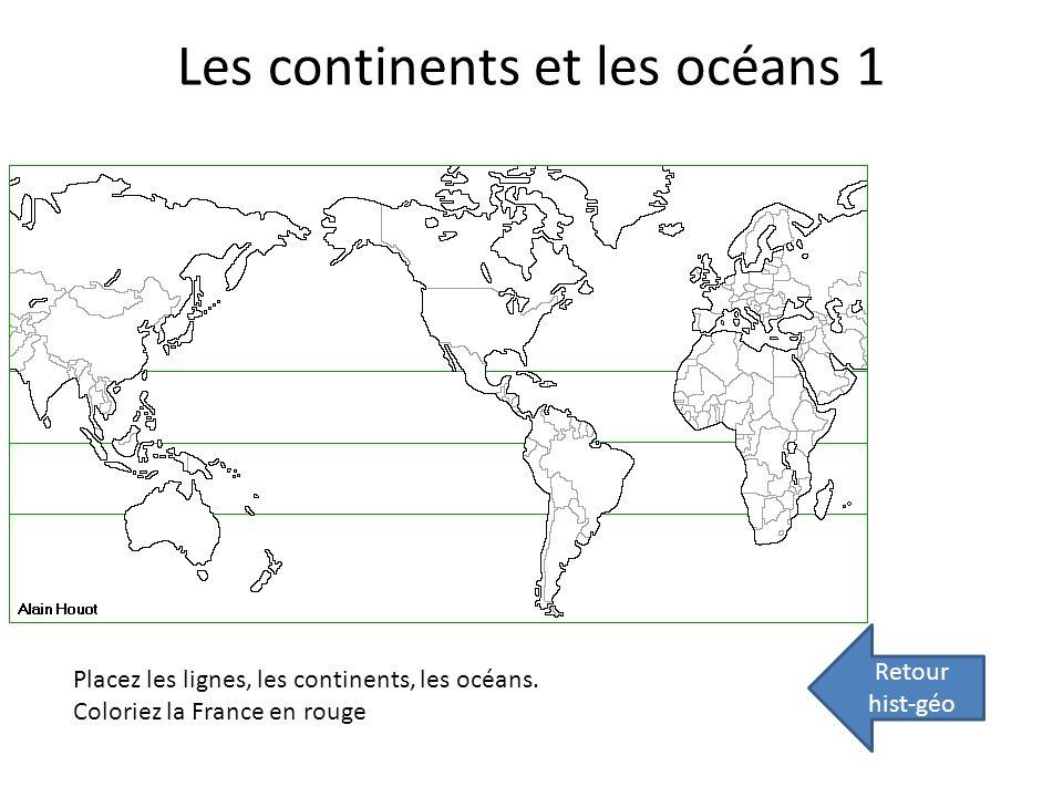 Les continents et les océans 1