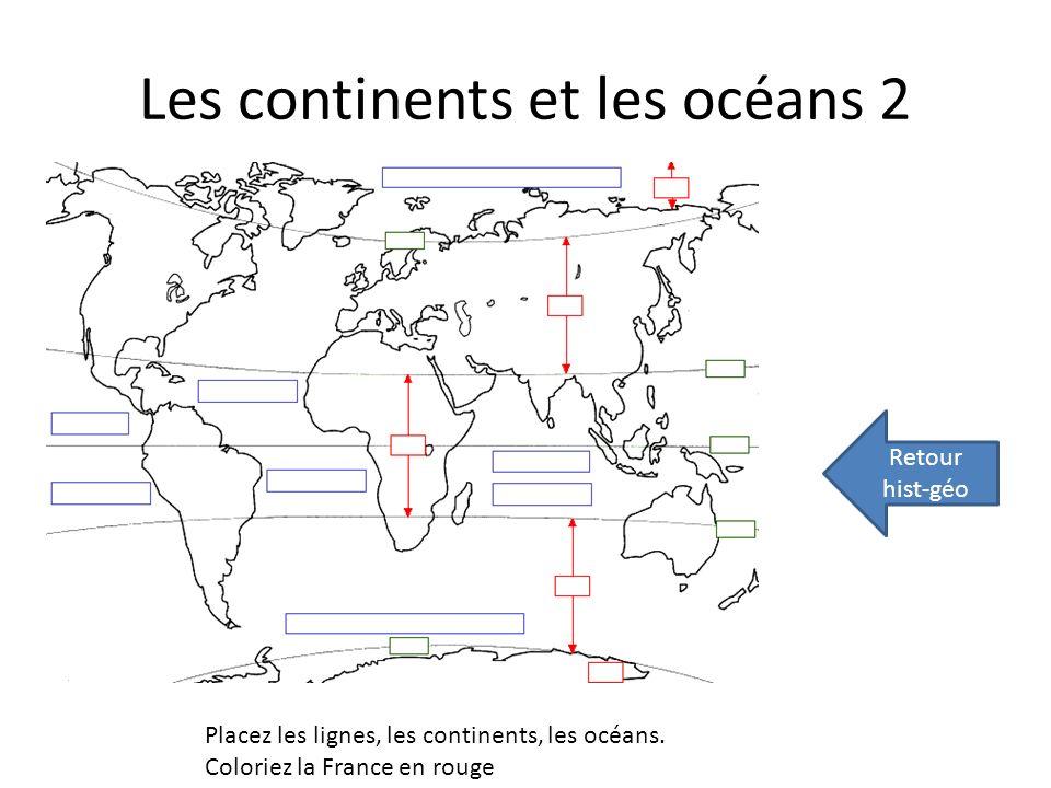 Les continents et les océans 2