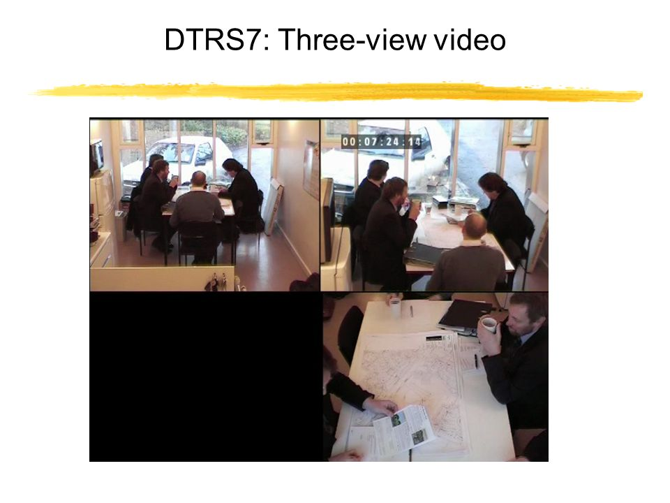 DTRS7: Three-view video