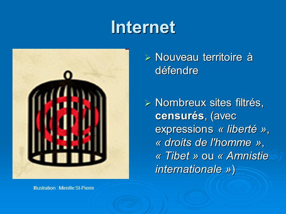 Internet Nouveau territoire à défendre