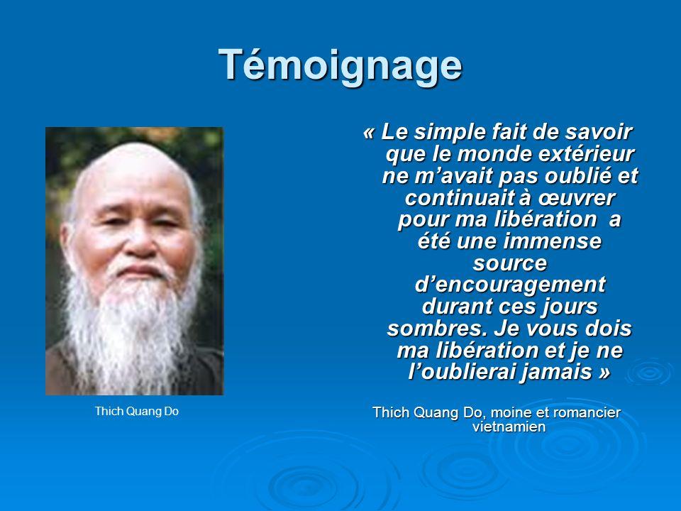 Thich Quang Do, moine et romancier vietnamien