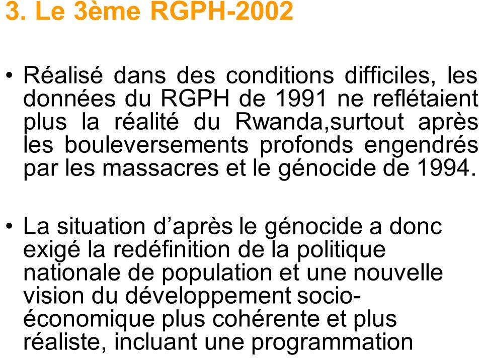 3. Le 3ème RGPH-2002