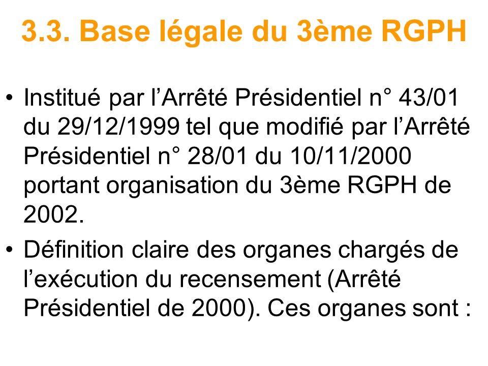 3.3. Base légale du 3ème RGPH