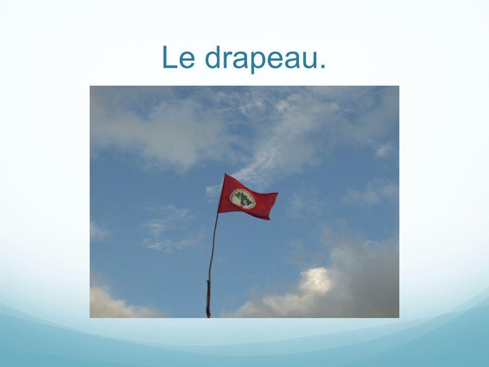 Le drapeau.