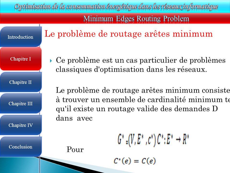 Minimum Edges Routing Problem