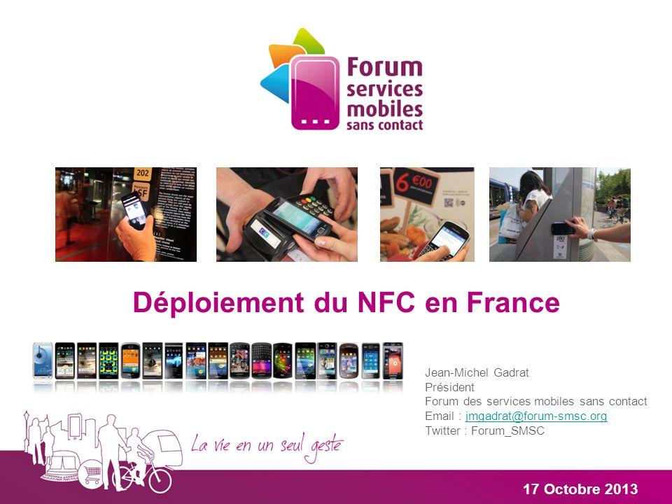 Déploiement du NFC en France