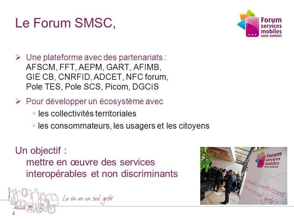 Le Forum SMSC,