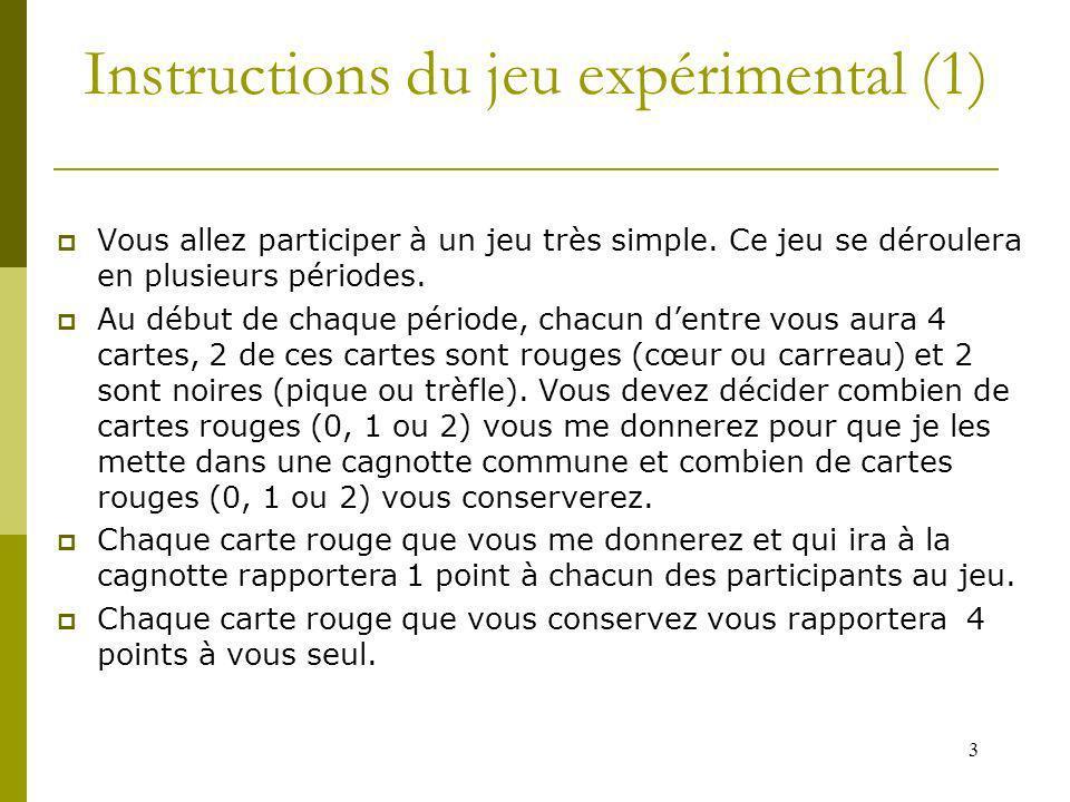 Instructions du jeu expérimental (1)