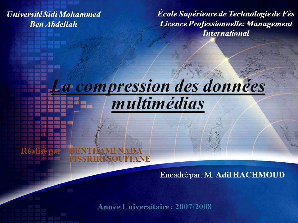 La compression des données multimédias