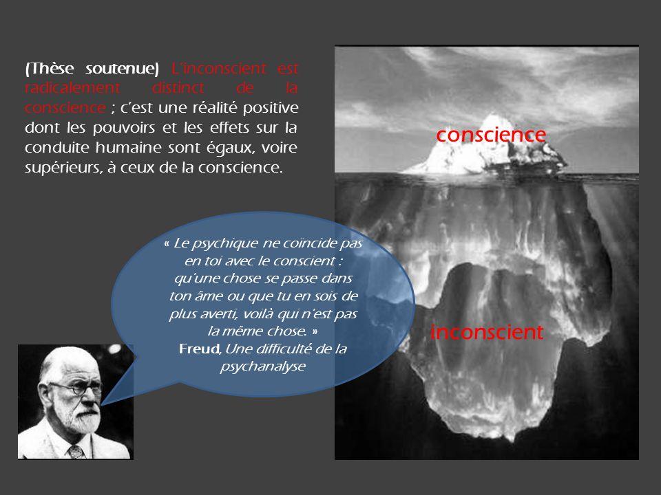 Freud, Une difficulté de la psychanalyse