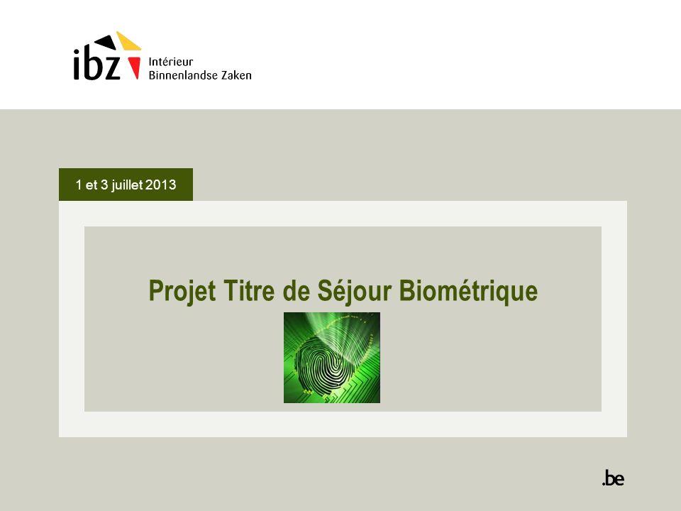 Projet Titre de Séjour Biométrique