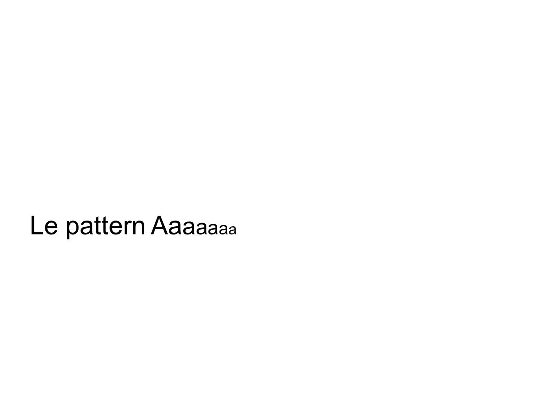 Le pattern Aaaaaaa