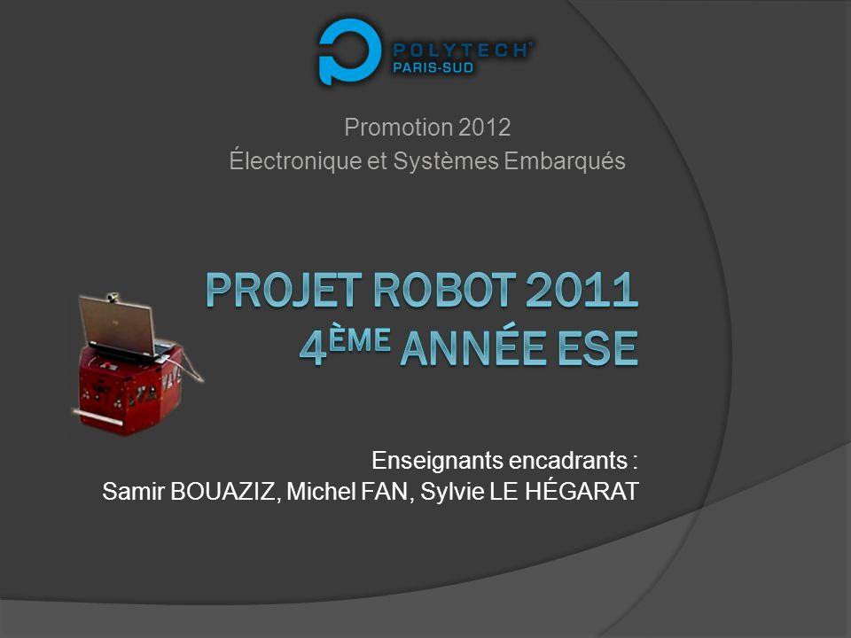 Projet Robot 2011 4ème année ESE