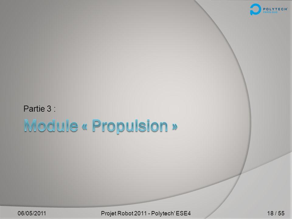 Projet Robot 2011 - Polytech ESE4