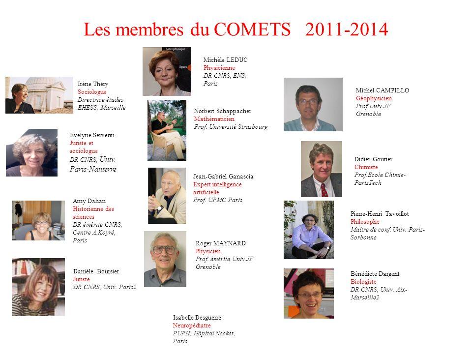 Les membres du COMETS 2011-2014 Michèle LEDUC Physicienne