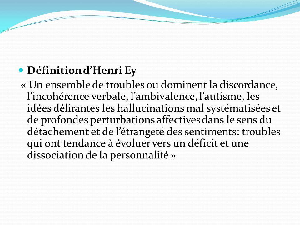 Définition d'Henri Ey