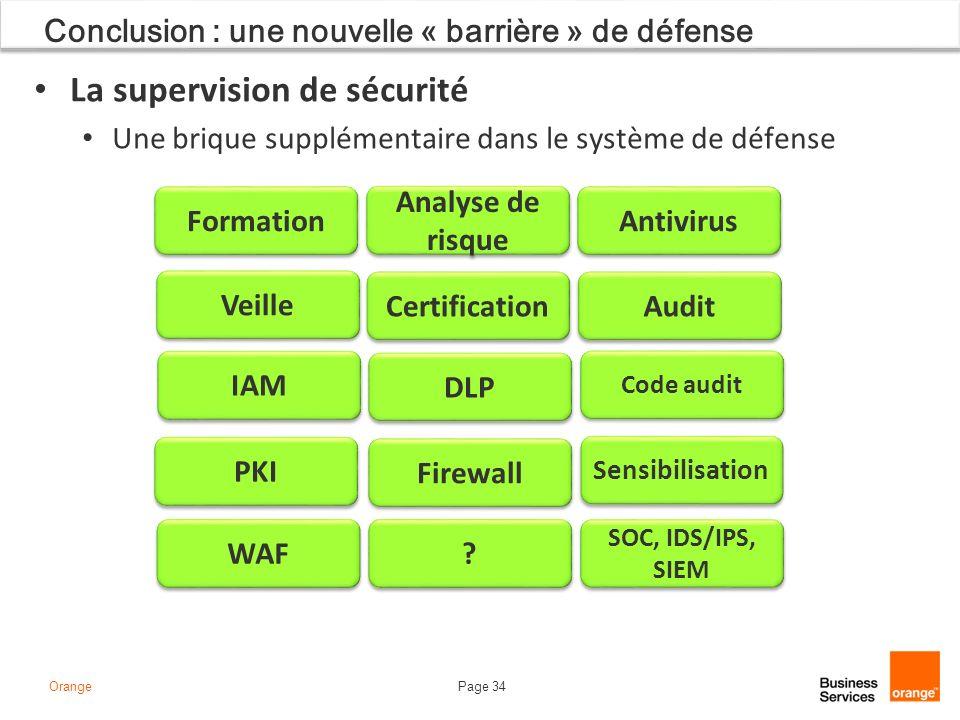 Conclusion : une nouvelle « barrière » de défense