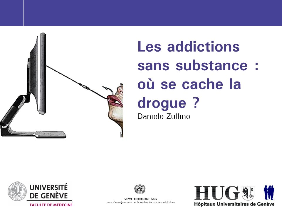 Les addictions sans substance : où se cache la drogue