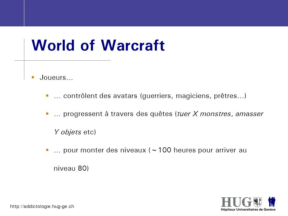 World of Warcraft Joueurs…