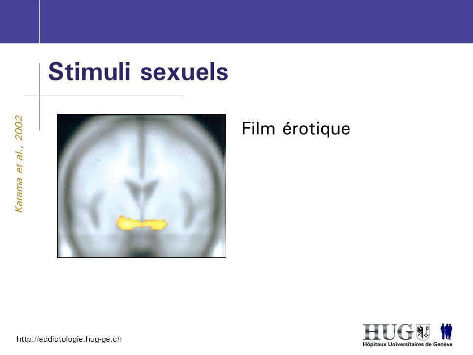 Stimuli sexuels Film érotique Karama et al., 2002