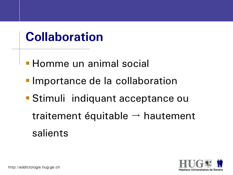 Collaboration Homme un animal social Importance de la collaboration