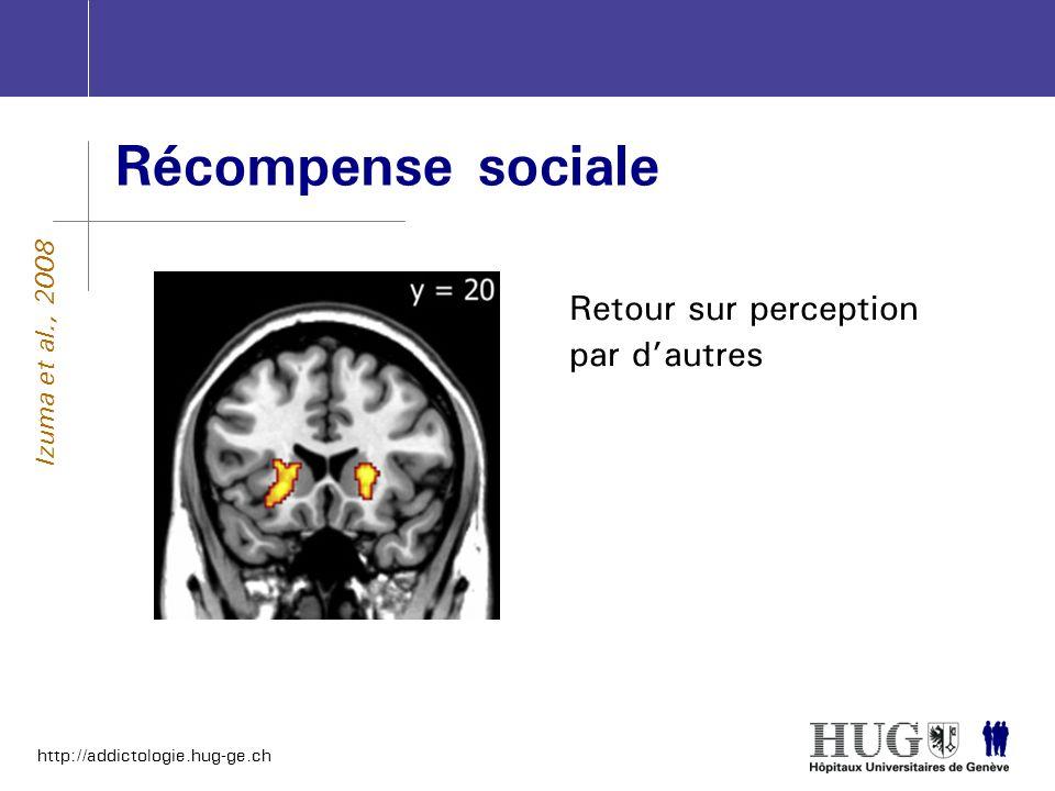 Récompense sociale Retour sur perception par d'autres