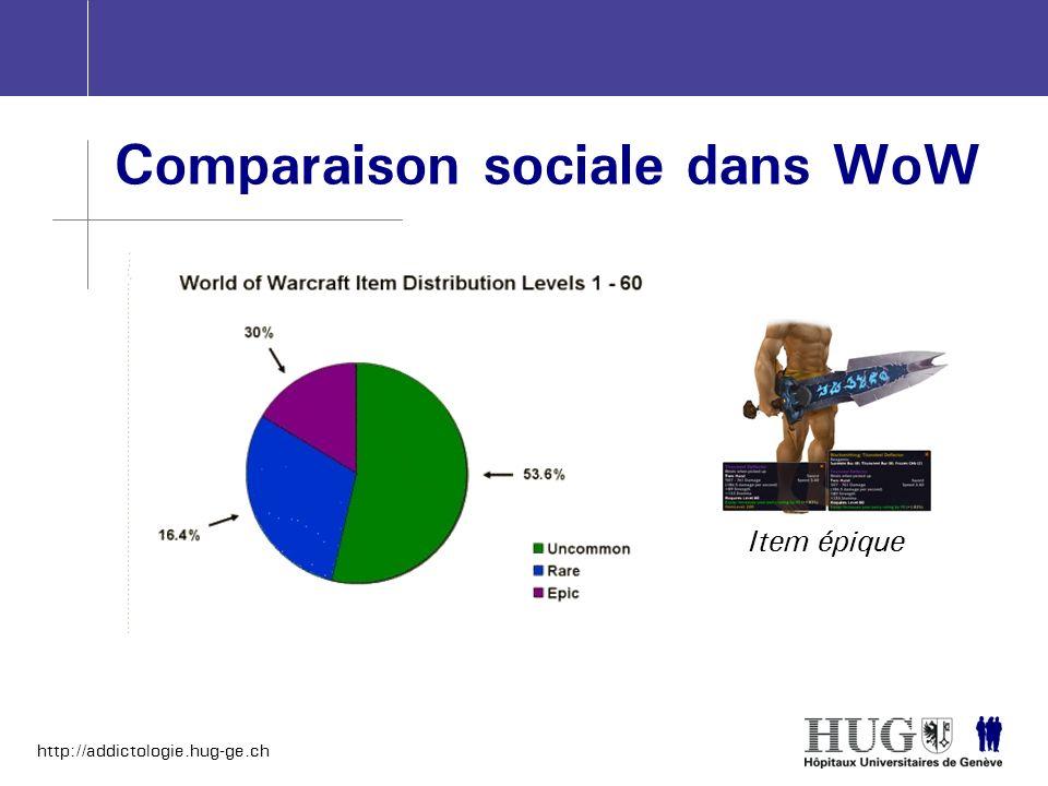 Comparaison sociale dans WoW