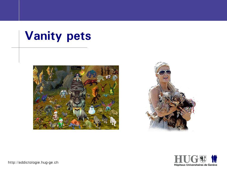 Vanity pets
