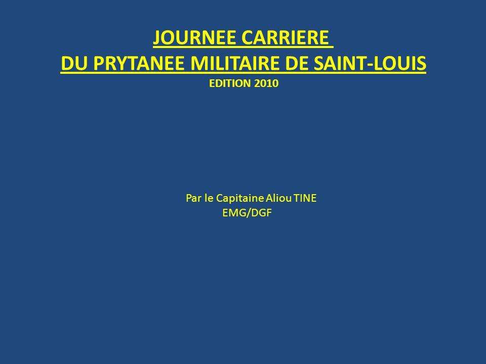DU PRYTANEE MILITAIRE DE SAINT-LOUIS
