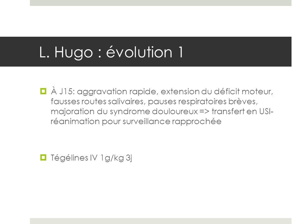 L. Hugo : évolution 1