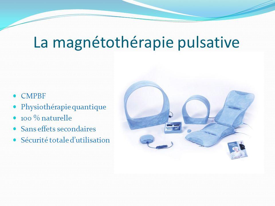La magnétothérapie pulsative