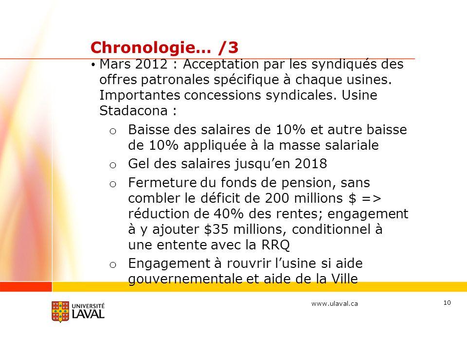 Chronologie… /3