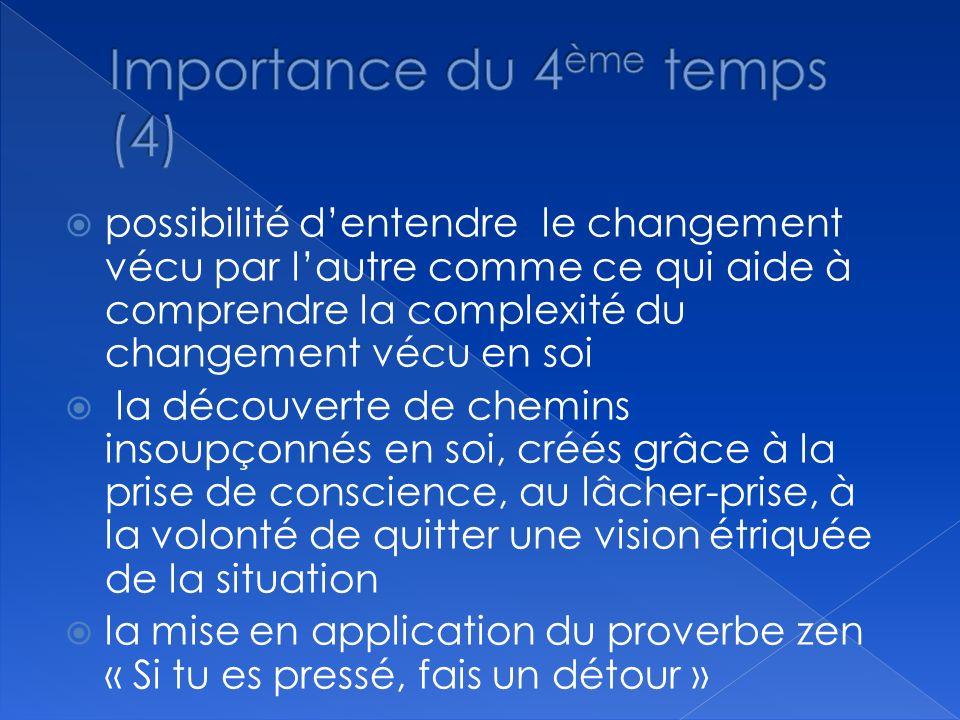 Importance du 4ème temps (4)