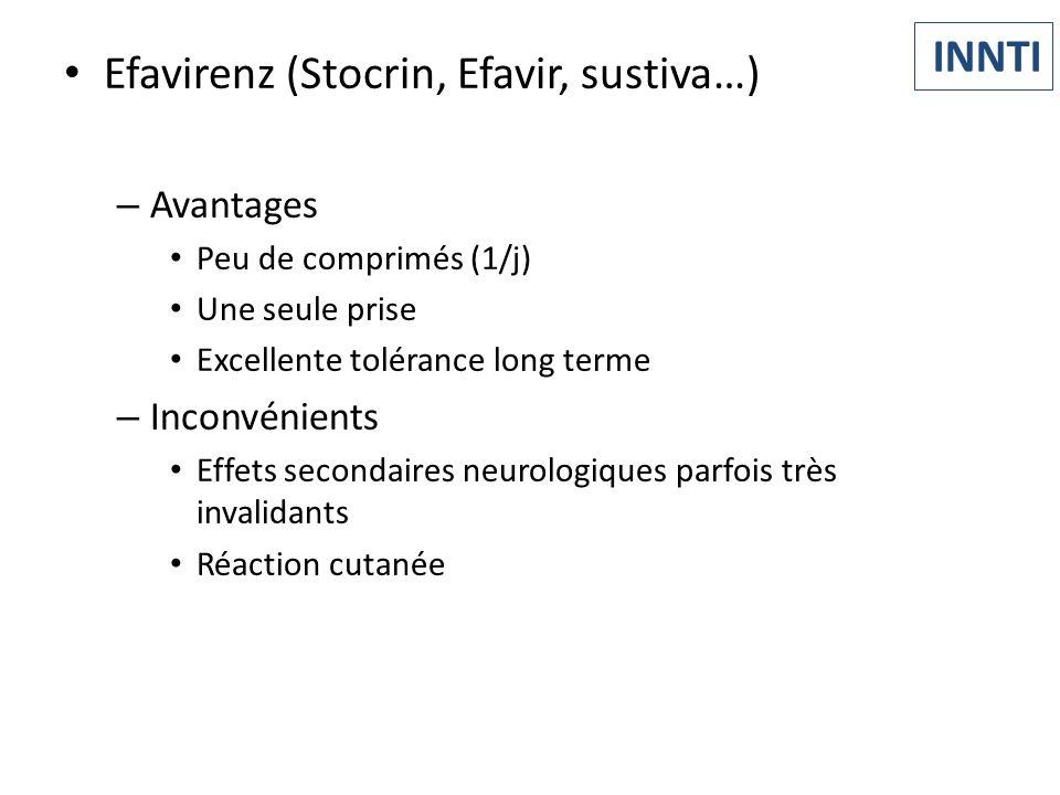 Efavirenz (Stocrin, Efavir, sustiva…)