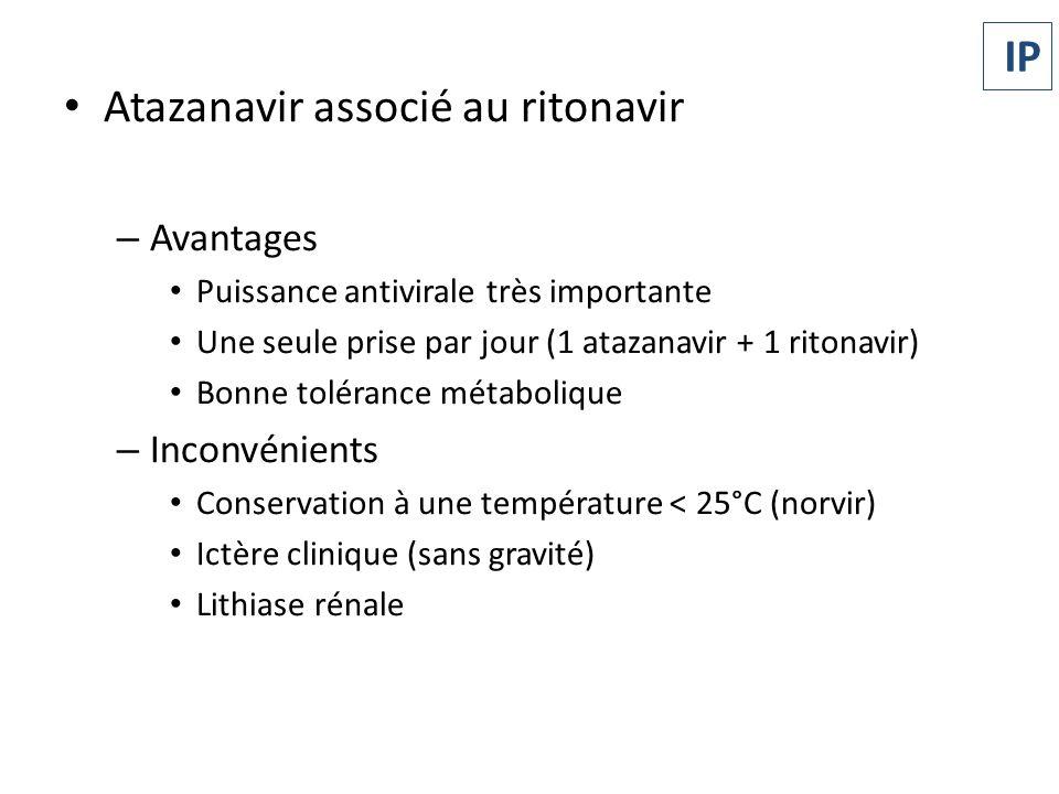 Atazanavir associé au ritonavir
