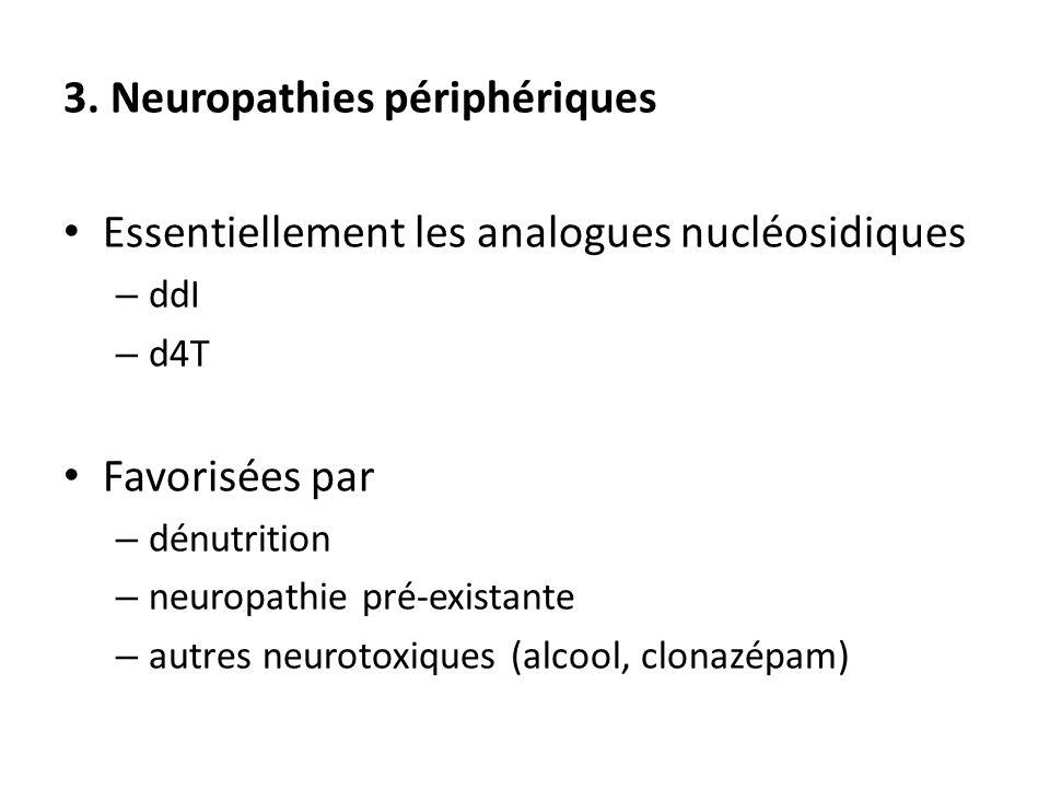 3. Neuropathies périphériques
