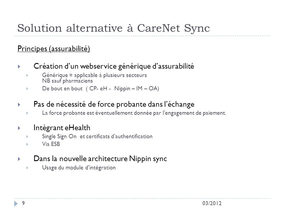 Solution alternative à CareNet Sync