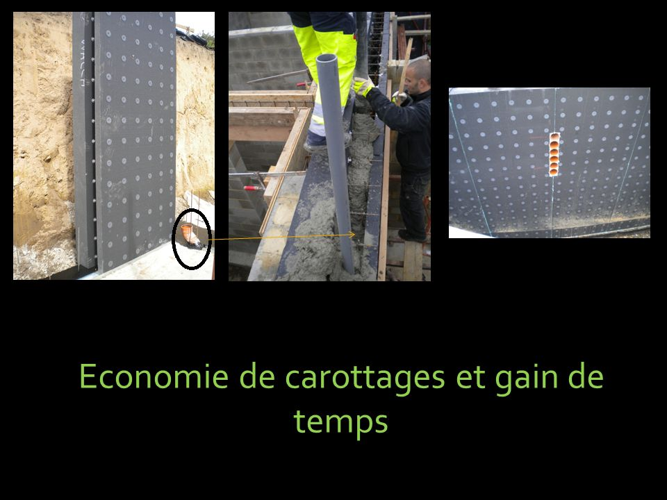 Economie de carottages et gain de temps